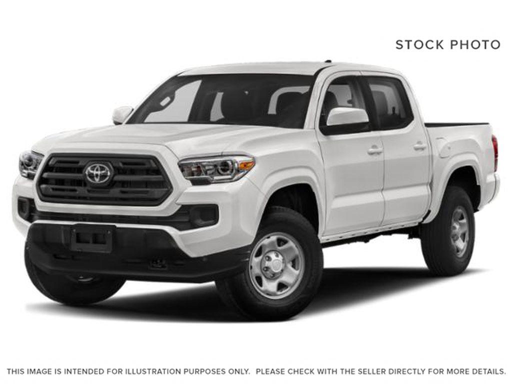 White[Alpine White] 2019 Toyota Tacoma