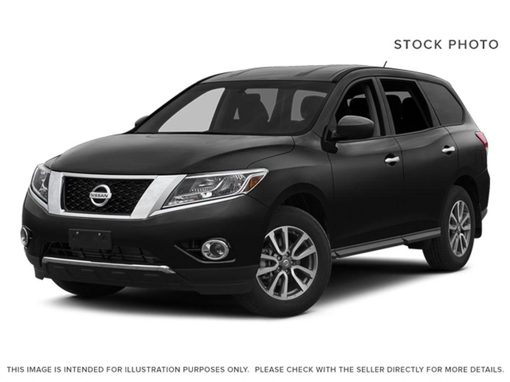 Black[Super Black] 2014 Nissan Pathfinder