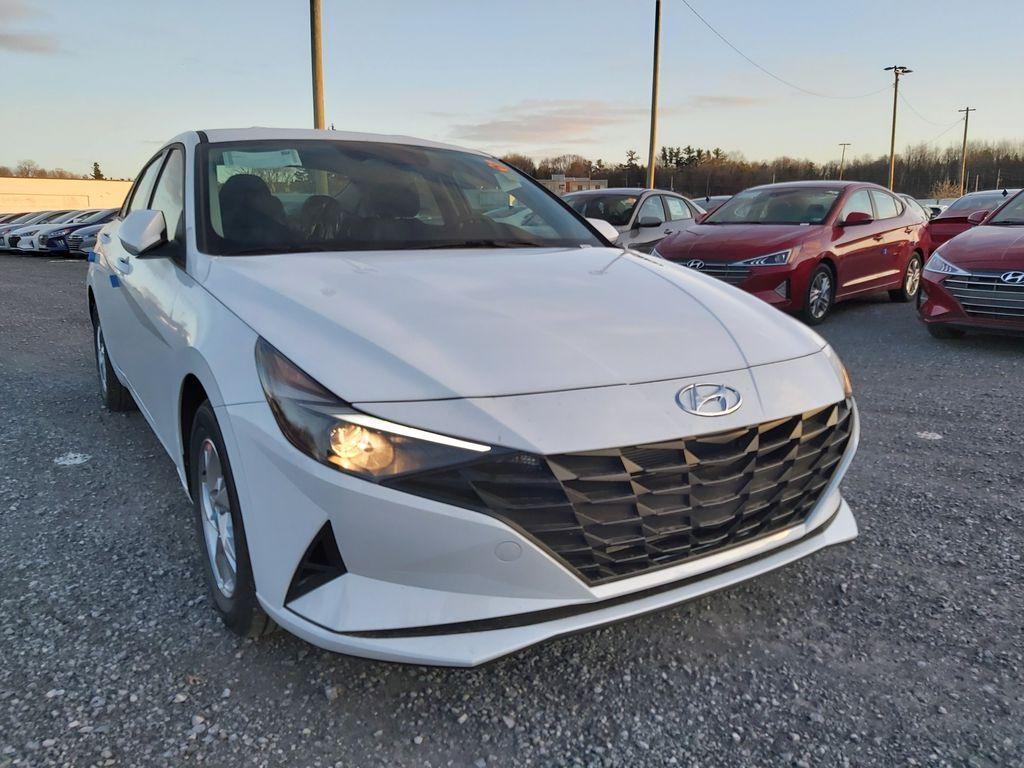 White[Polar White] 2021 Hyundai Elantra