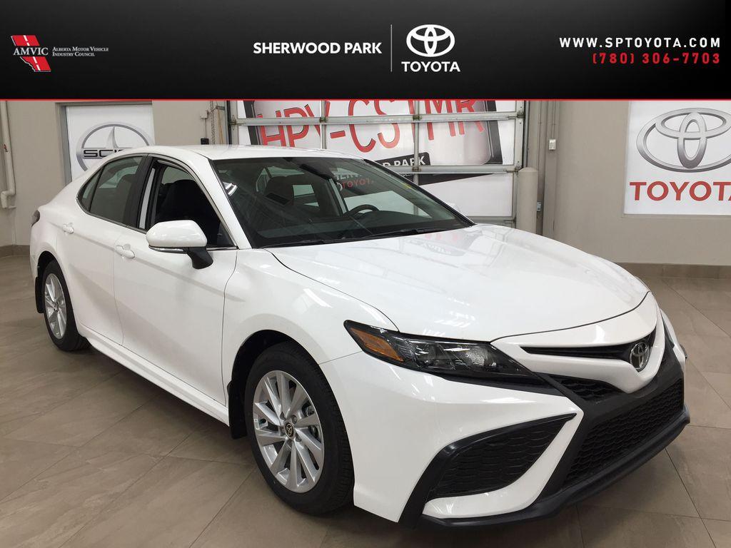 White[Super White] 2021 Toyota Camry SE FWD