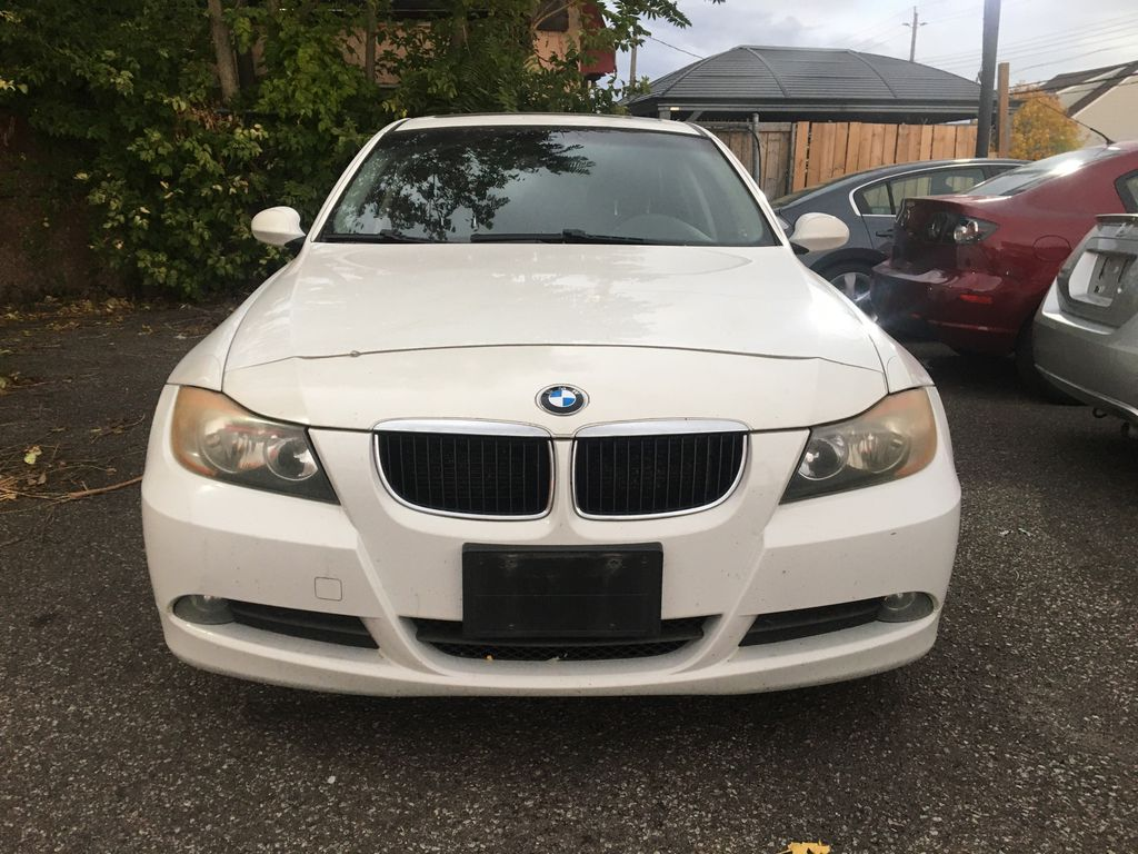 """White[Alpine White] 2008 BMW 3 Series, 323i , """""""" CERTIFIED """""""" Front Vehicle Photo in St.Catherines ON"""