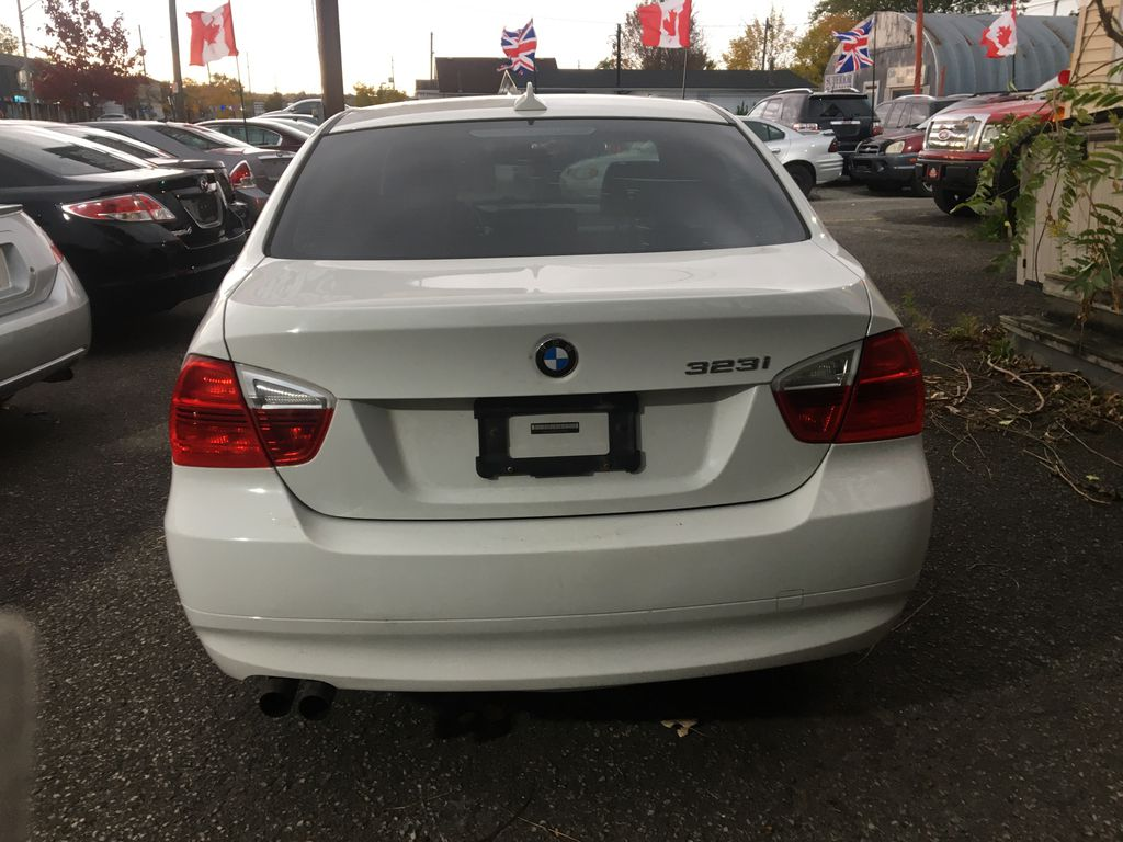 """White[Alpine White] 2008 BMW 3 Series, 323i , """""""" CERTIFIED """""""" Rear of Vehicle Photo in St.Catherines ON"""