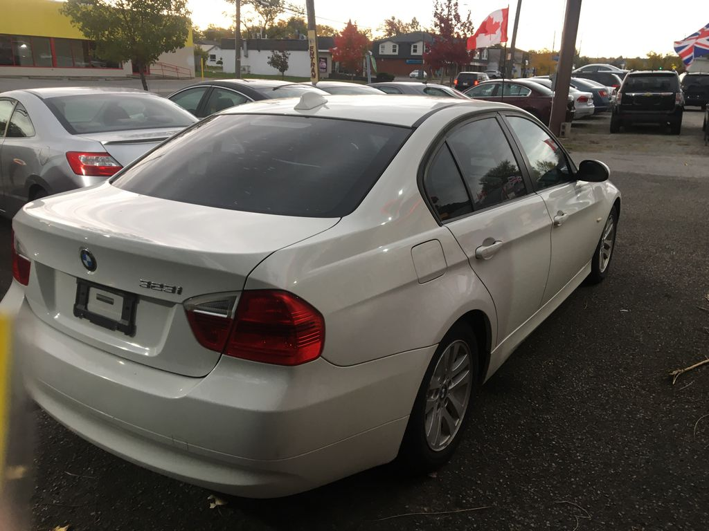"""White[Alpine White] 2008 BMW 3 Series, 323i , """""""" CERTIFIED """""""" Left Front Rim and Tire Photo in St.Catherines ON"""