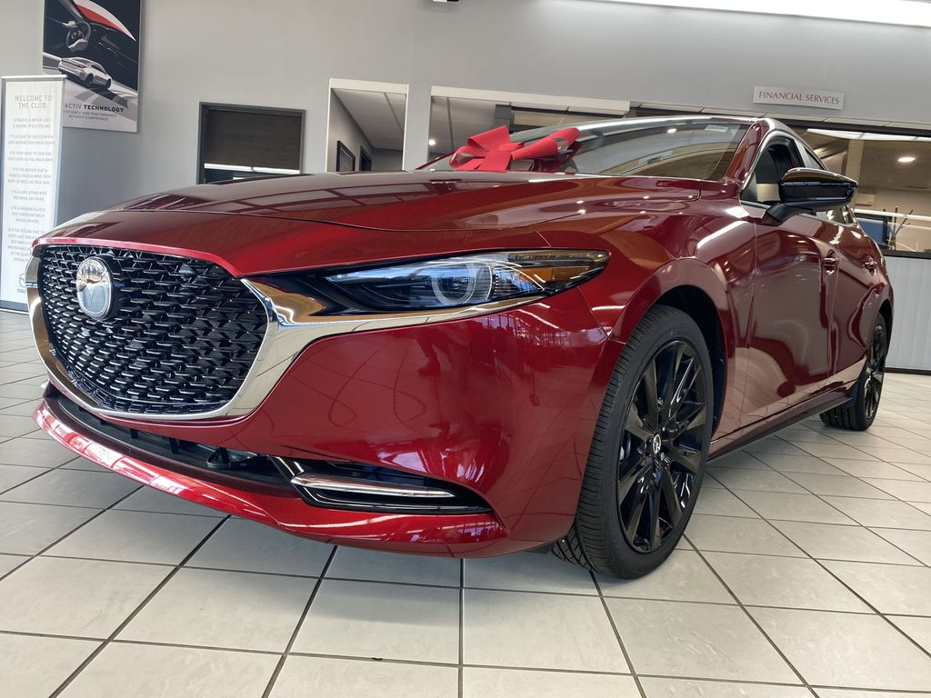 SOUL RED CRYSTAL METALLIC(46V) 2021 Mazda Mazda3 GT Turbo AWD Left Front Head Light / Bumper and Grill in Edmonton AB