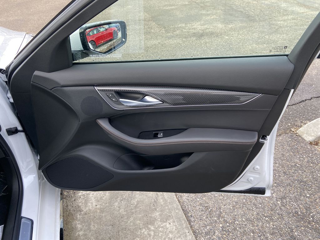White[Crystal White Tricoat] 2021 Cadillac CT5 Sport Right Front Interior Door Panel Photo in Calgary AB