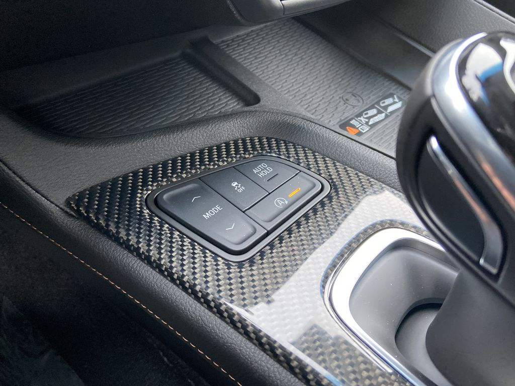 Gray[Satin Steel Metallic] 2021 Cadillac CT5 Sport Center Console Photo in Calgary AB