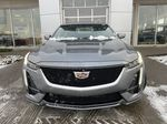 Gray[Satin Steel Metallic] 2021 Cadillac CT5 Sport Front Vehicle Photo in Calgary AB