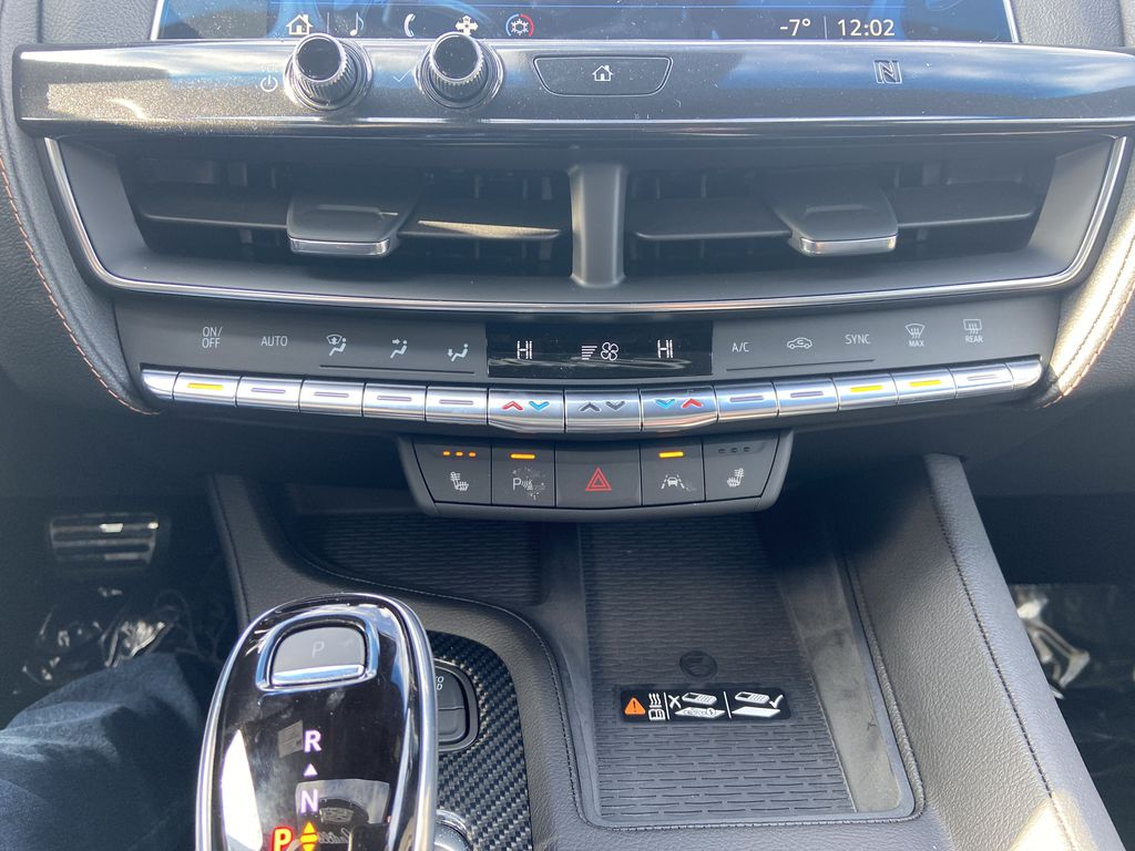 Green[Evergreen Metallic] 2021 Cadillac CT5 Sport Central Dash Options Photo in Calgary AB
