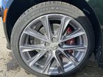Green[Evergreen Metallic] 2021 Cadillac CT5 Sport Left Front Rim and Tire Photo in Calgary AB