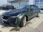 Green[Evergreen Metallic] 2021 Cadillac CT5 Sport Left Front Head Light / Bumper and Grill in Calgary AB