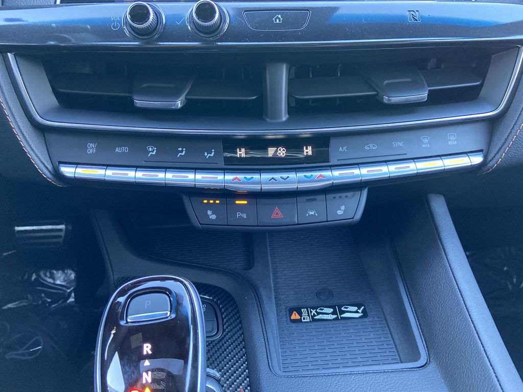 Black[Black Raven] 2021 Cadillac CT5 Sport Central Dash Options Photo in Calgary AB