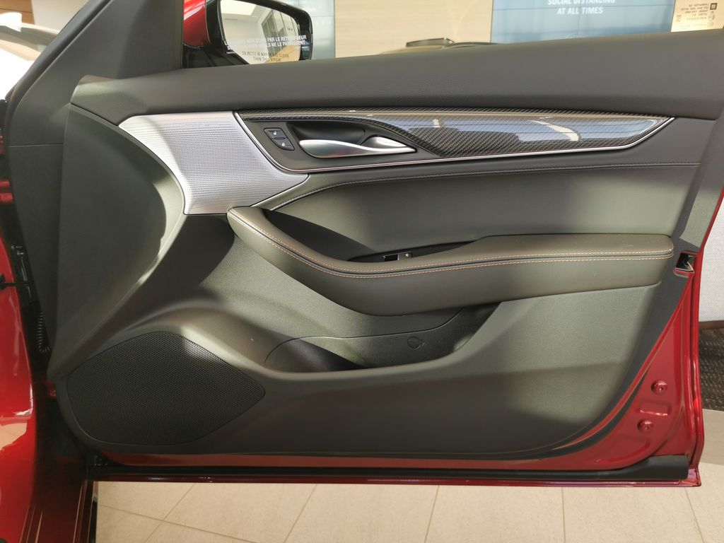 Red[Infrared Tintcoat] 2021 Cadillac CT5 Right Front Interior Door Panel Photo in Edmonton AB