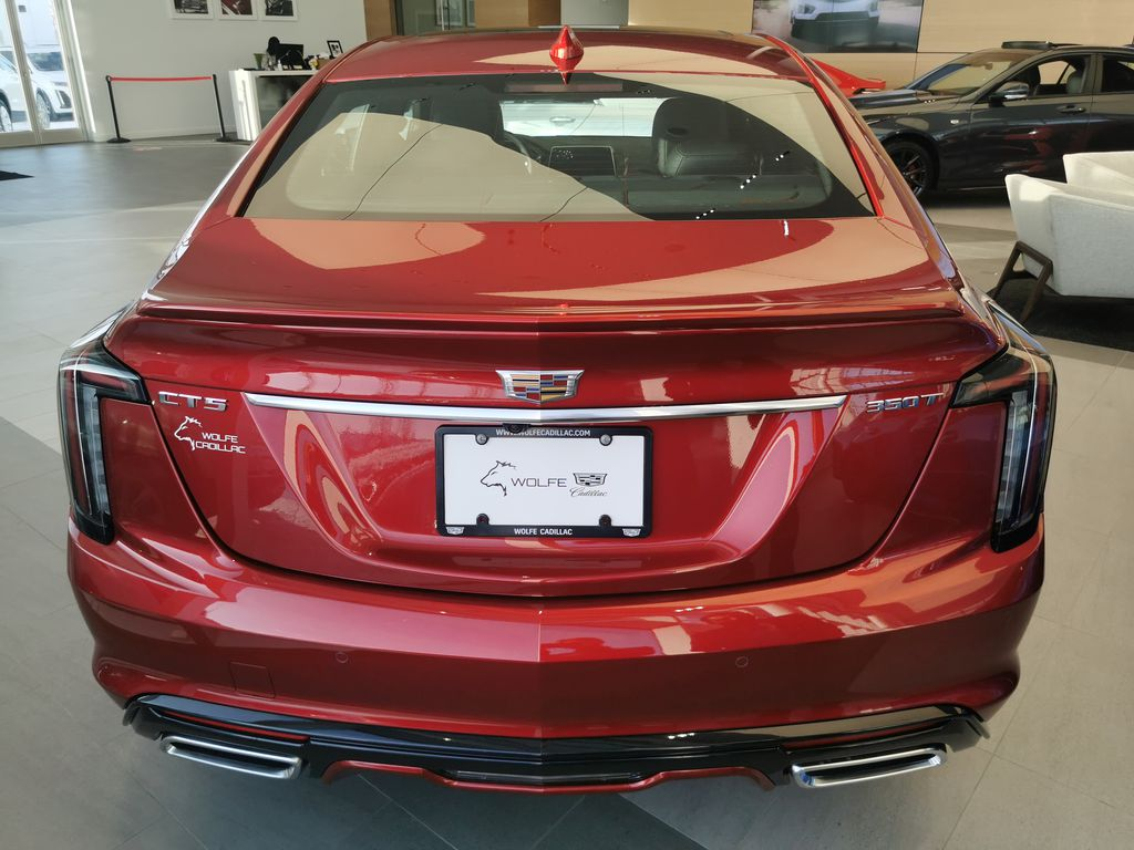 Red[Infrared Tintcoat] 2021 Cadillac CT5 Rear of Vehicle Photo in Edmonton AB