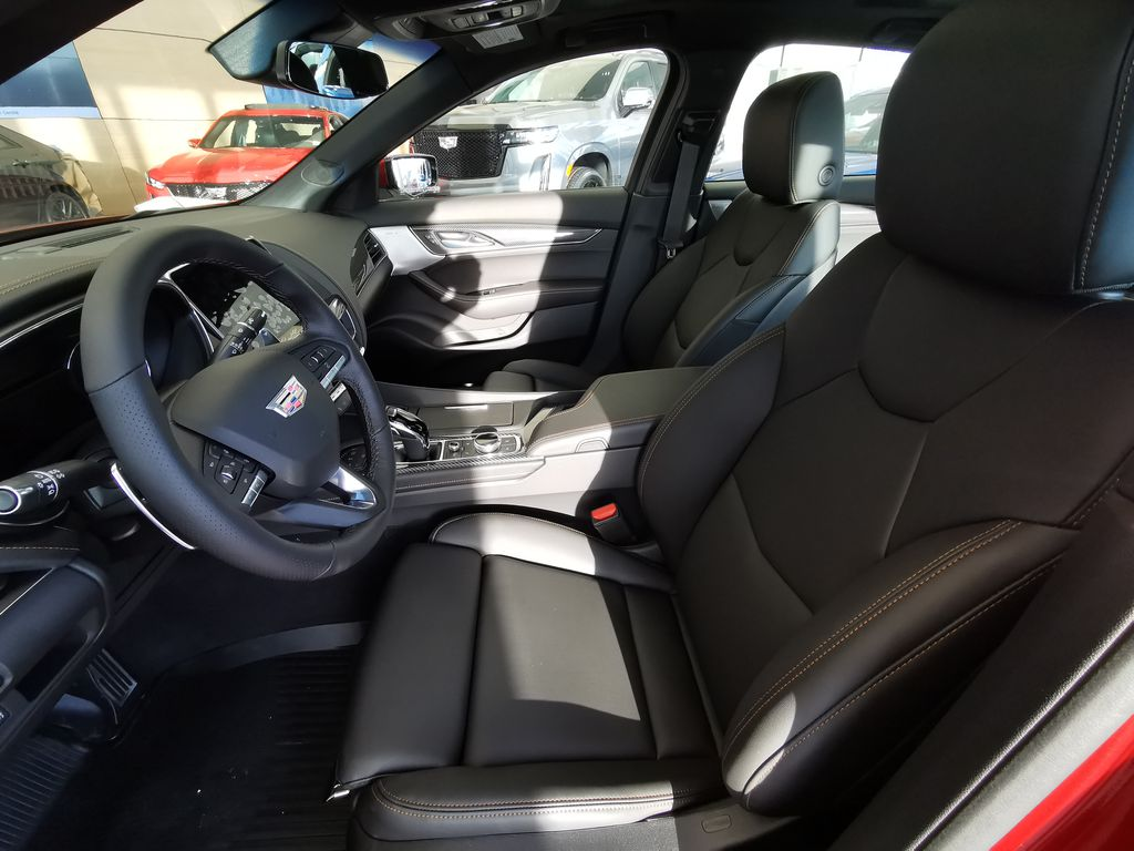 Red[Infrared Tintcoat] 2021 Cadillac CT5 Left Front Interior Photo in Edmonton AB