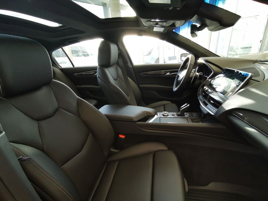 Red[Infrared Tintcoat] 2021 Cadillac CT5 Right Side Front Seat  Photo in Edmonton AB