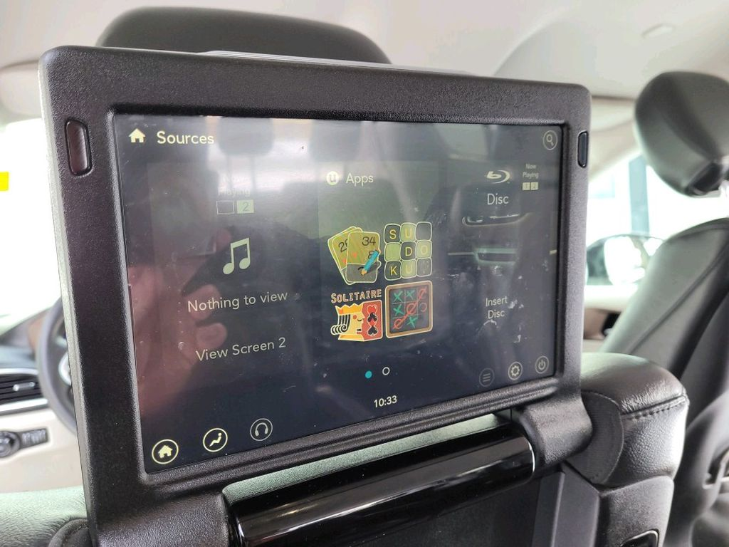 Black 2017 Chrysler Pacifica Left Side Rear Seat  Photo in Fort Macleod AB