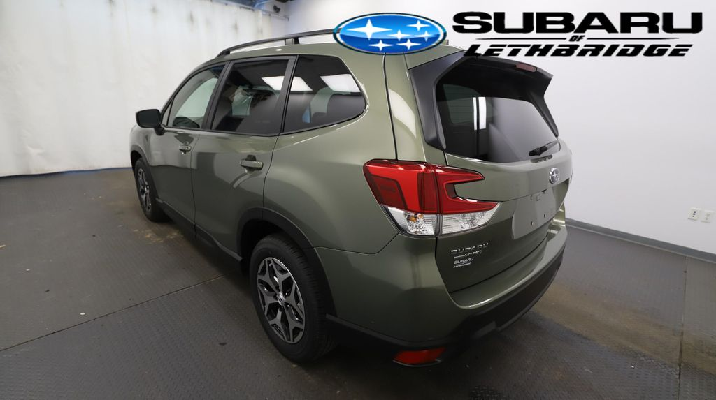 Green 2021 Subaru Forester Left Front Head Light / Bumper and Grill in Lethbridge AB
