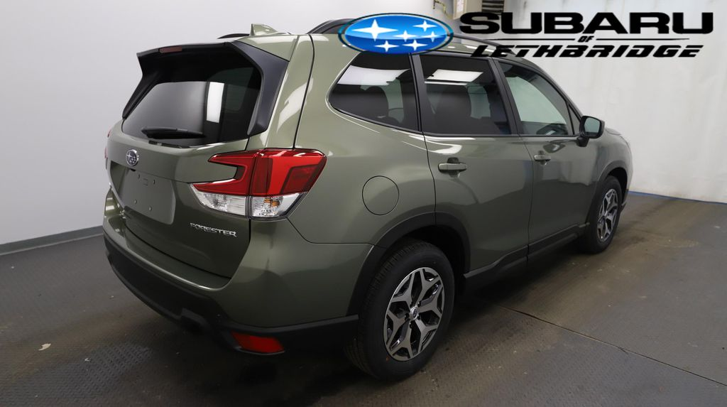 Green 2021 Subaru Forester Driver's Side Door Controls Photo in Lethbridge AB