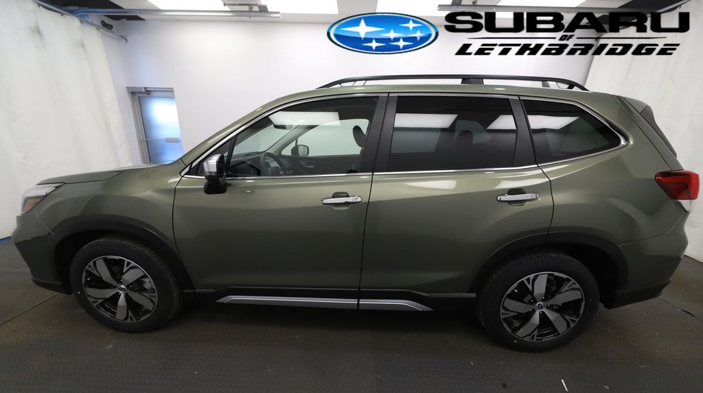 Green 2021 Subaru Forester Front Vehicle Photo in Lethbridge AB