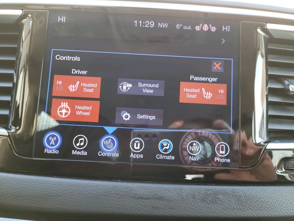Red 2017 Chrysler Pacifica Odometer Photo in Fort Macleod AB
