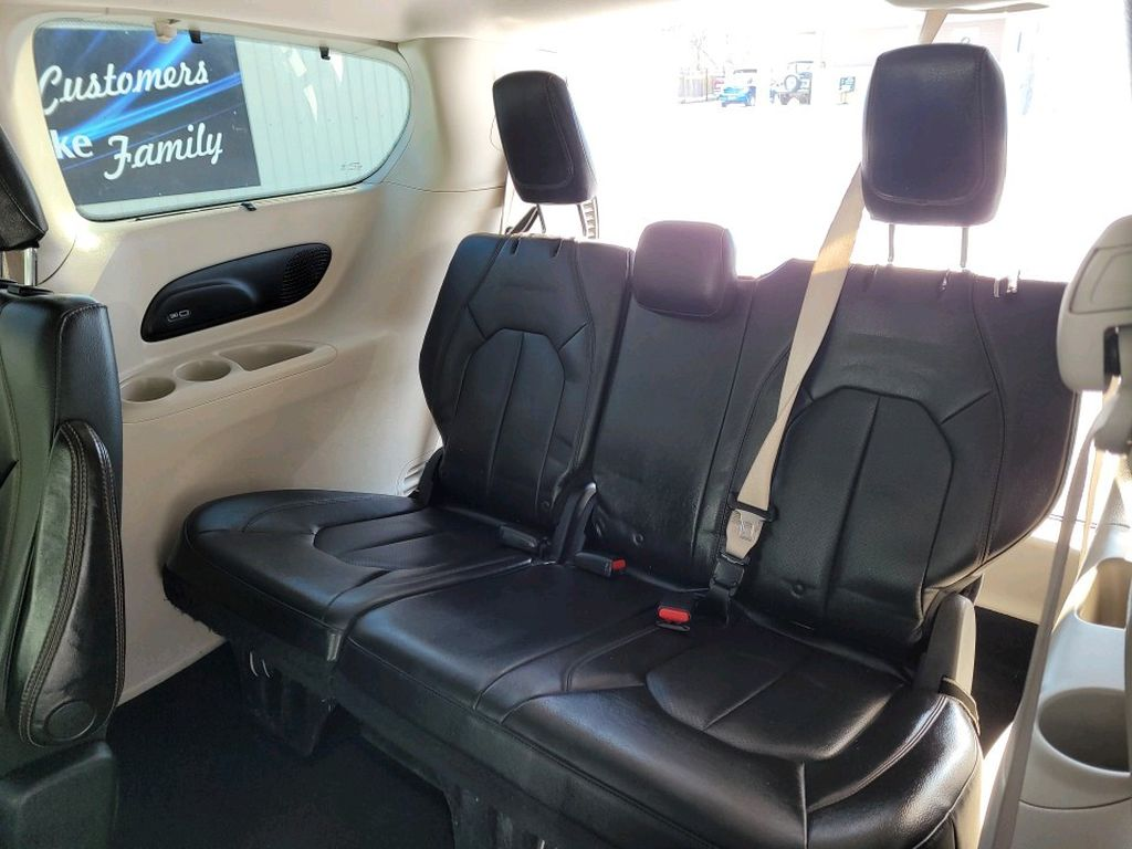 Red 2017 Chrysler Pacifica Left Side Rear Seat  Photo in Fort Macleod AB