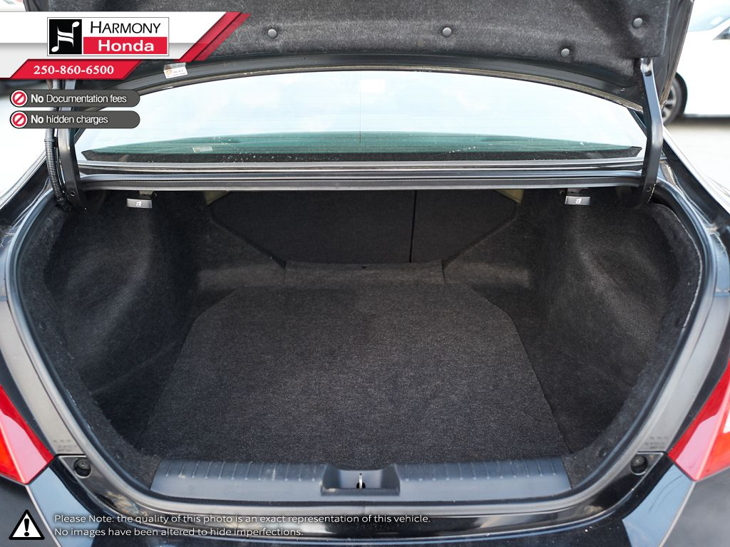 Black - Crystal Black Pearl 2013 Honda Civic Coupe Fourth Row  Seat  Photo in Kelowna BC