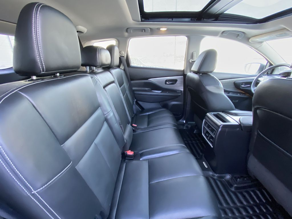 2017 Nissan Murano Platinum Right Side Rear Seat  Photo in Calgary AB