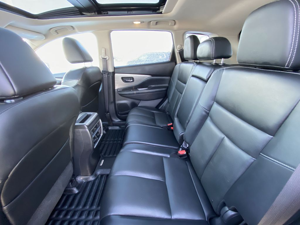 2017 Nissan Murano Platinum Left Side Rear Seat  Photo in Calgary AB