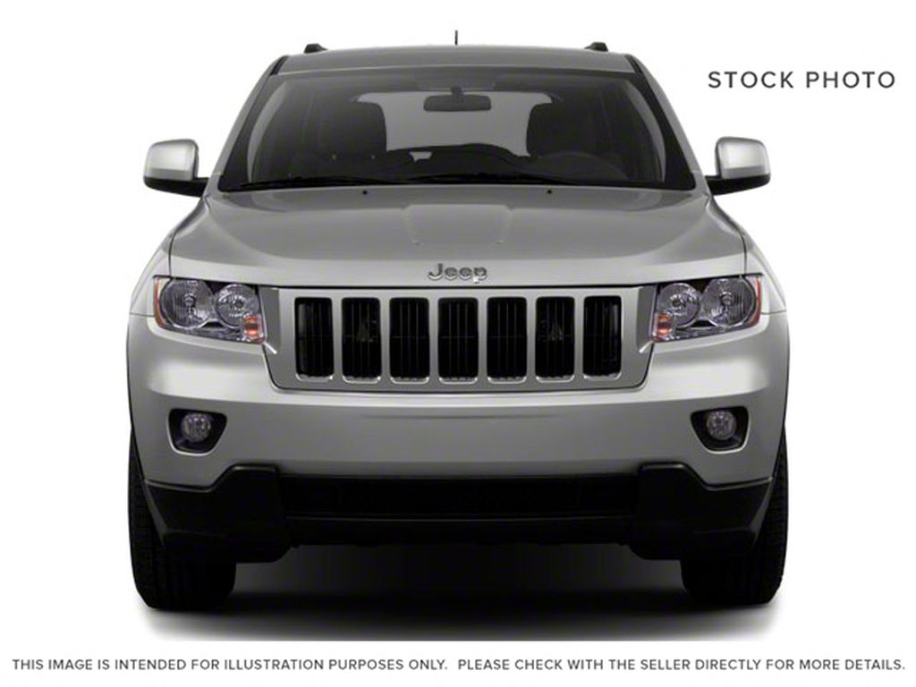 Burgundy 2012 Jeep Grand Cherokee Front Vehicle Photo in Fort Macleod AB