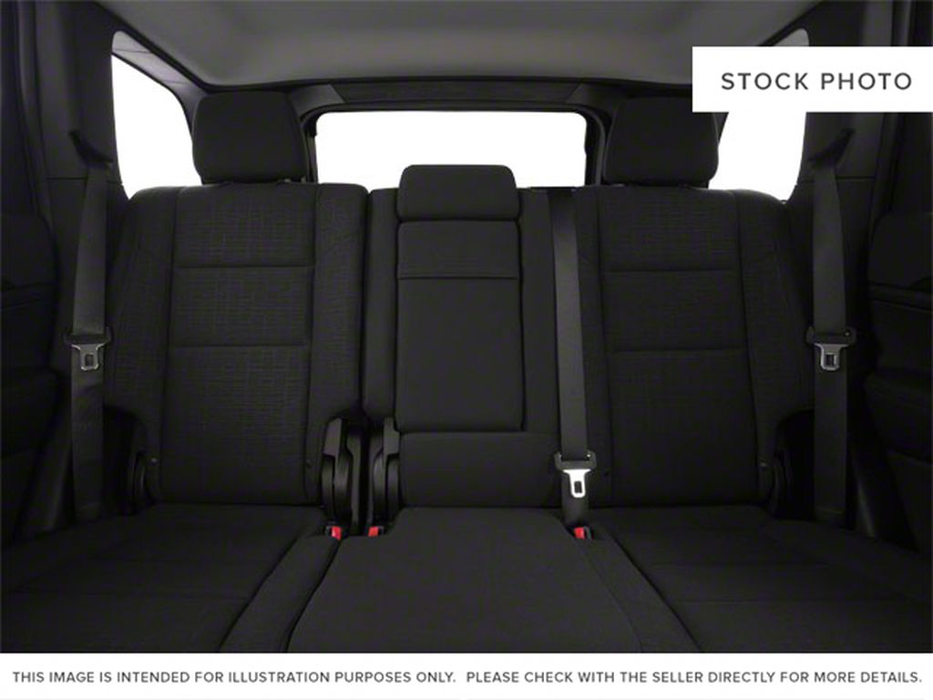 Burgundy 2012 Jeep Grand Cherokee Left Side Rear Seat  Photo in Fort Macleod AB