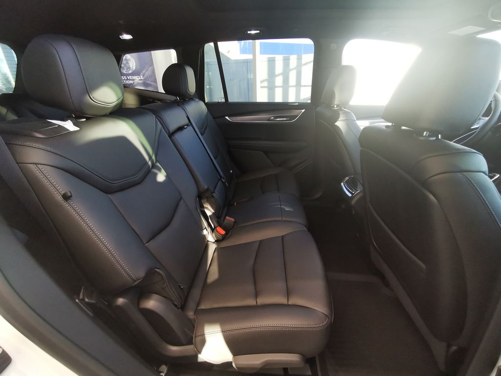 White[Crystal White Tricoat] 2021 Cadillac XT6 Right Side Rear Seat  Photo in Edmonton AB