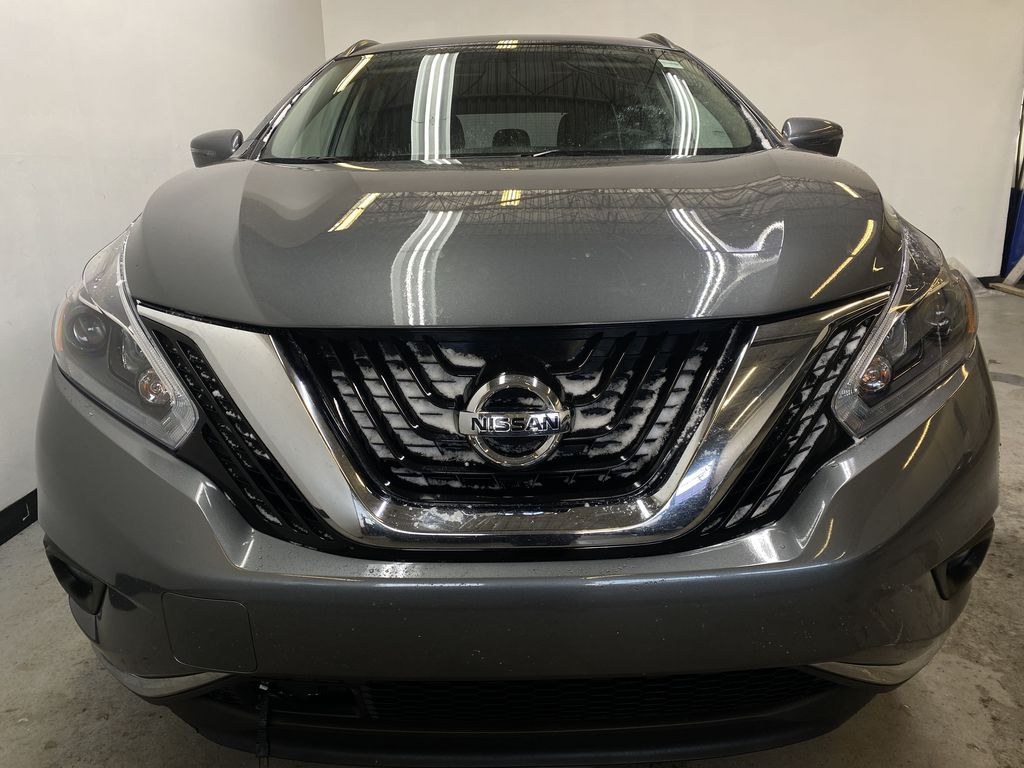 GREY 2018 Nissan Murano SV - Remote Start, Apple CarPlay, NAV Front Vehicle Photo in Edmonton AB