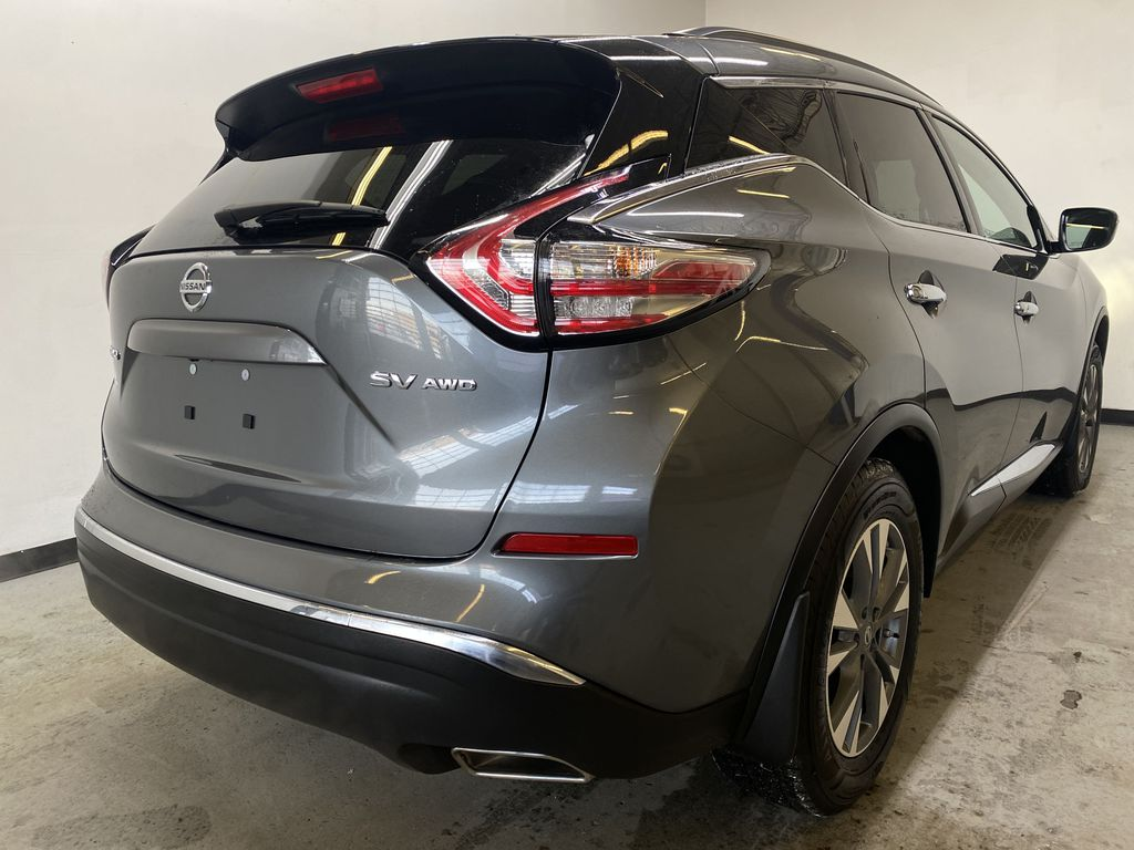 GREY 2018 Nissan Murano SV - Remote Start, Apple CarPlay, NAV Right Rear Corner Photo in Edmonton AB