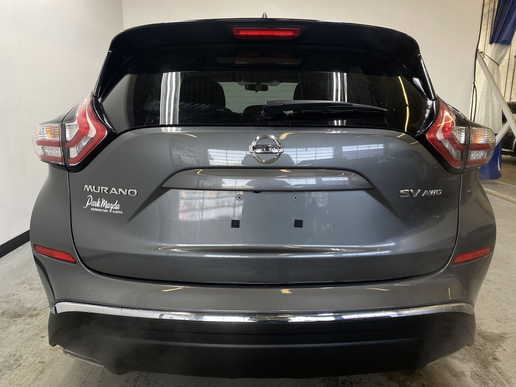 GREY 2018 Nissan Murano SV - Remote Start, Apple CarPlay, NAV Rear of Vehicle Photo in Edmonton AB