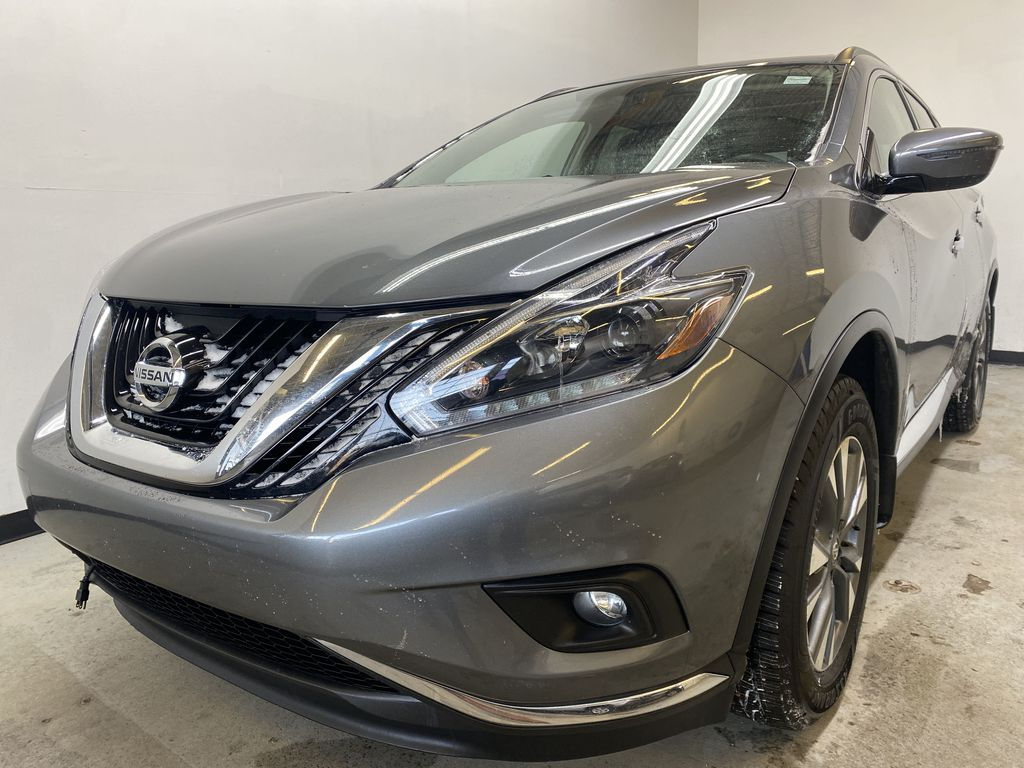 GREY 2018 Nissan Murano SV - Remote Start, Apple CarPlay, NAV Left Front Head Light / Bumper and Grill in Edmonton AB