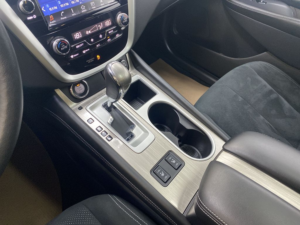 GREY 2018 Nissan Murano SV - Remote Start, Apple CarPlay, NAV Center Console Photo in Edmonton AB