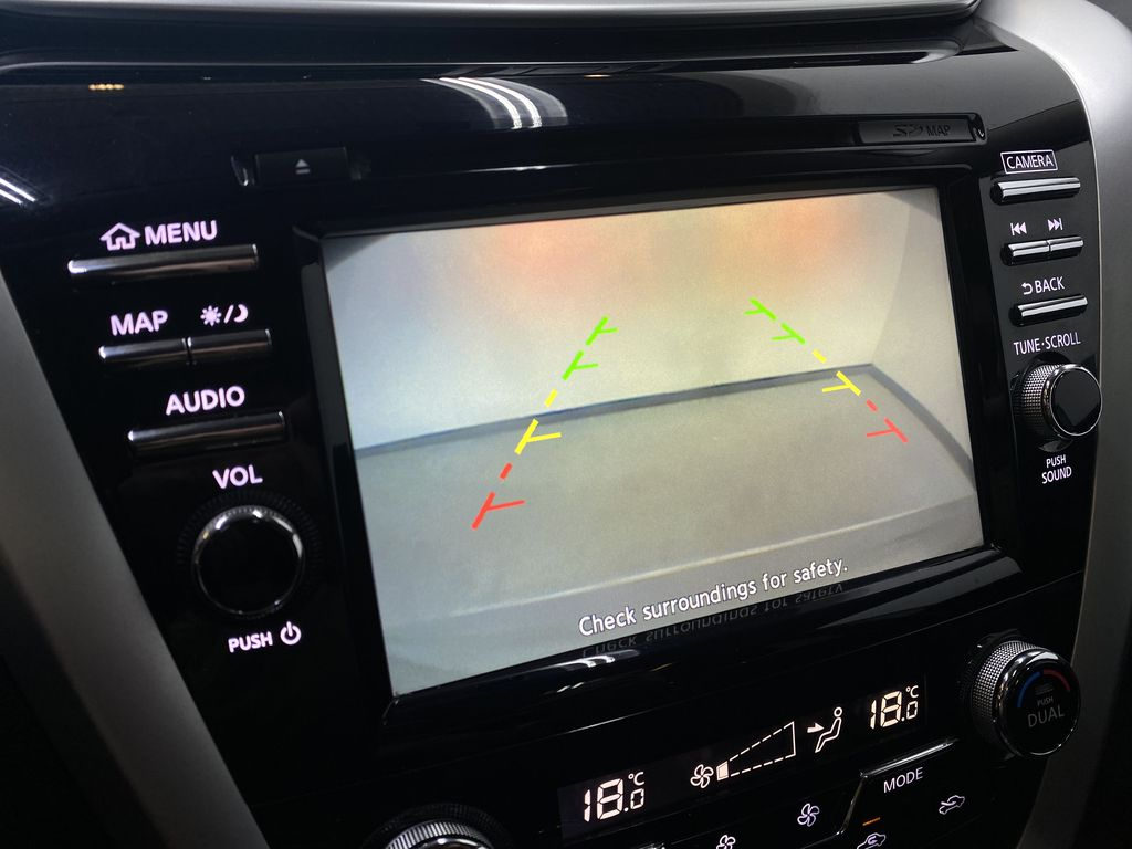 GREY 2018 Nissan Murano SV - Remote Start, Apple CarPlay, NAV Backup Camera Closeup Photo in Edmonton AB