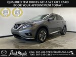 GREY 2018 Nissan Murano SV - Remote Start, Apple CarPlay, NAV Primary Listing Photo in Edmonton AB