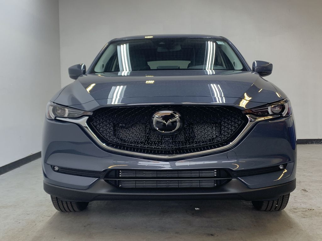 POLYMETAL GREY METALLIC(47C) 2021 Mazda CX-5 GT Turbo Front Vehicle Photo in Edmonton AB