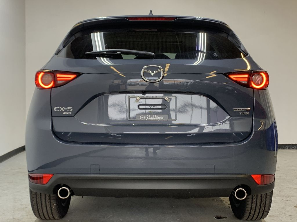 POLYMETAL GREY METALLIC(47C) 2021 Mazda CX-5 GT Turbo Rear of Vehicle Photo in Edmonton AB