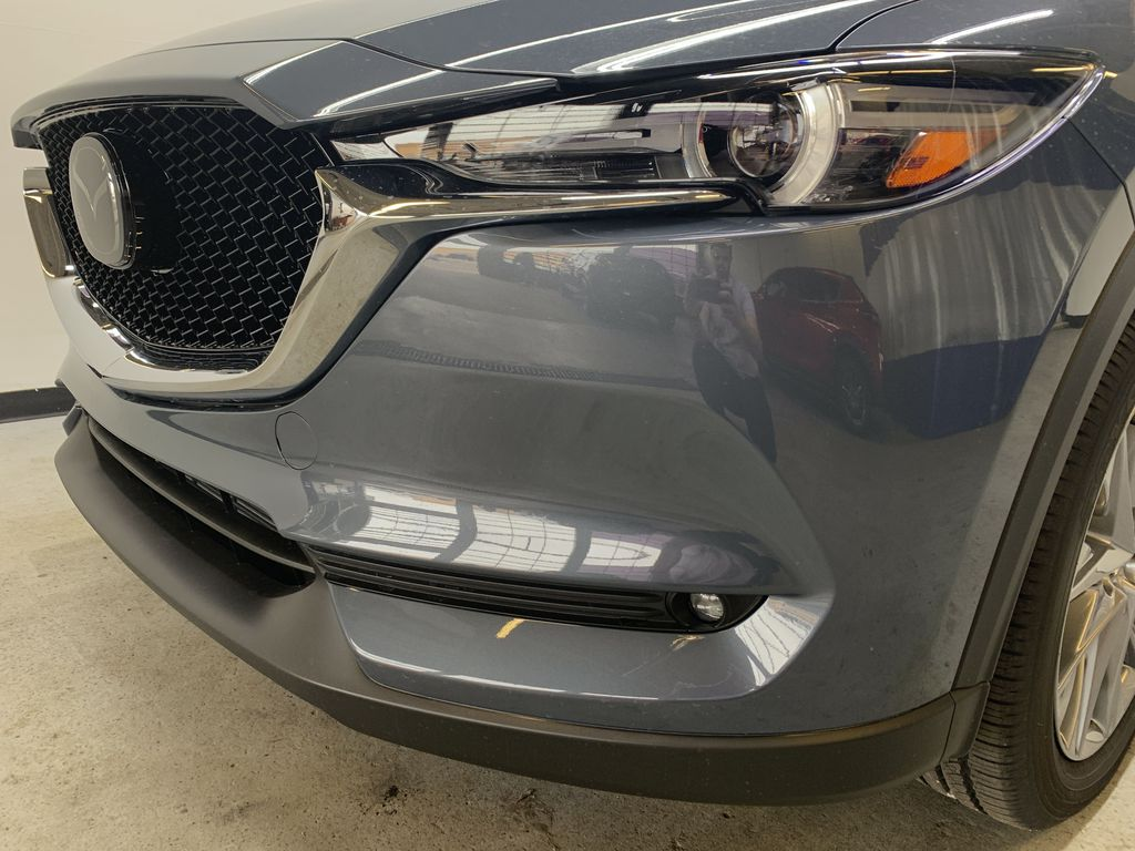 POLYMETAL GREY METALLIC(47C) 2021 Mazda CX-5 GT Turbo Left Front Head Light / Bumper and Grill in Edmonton AB