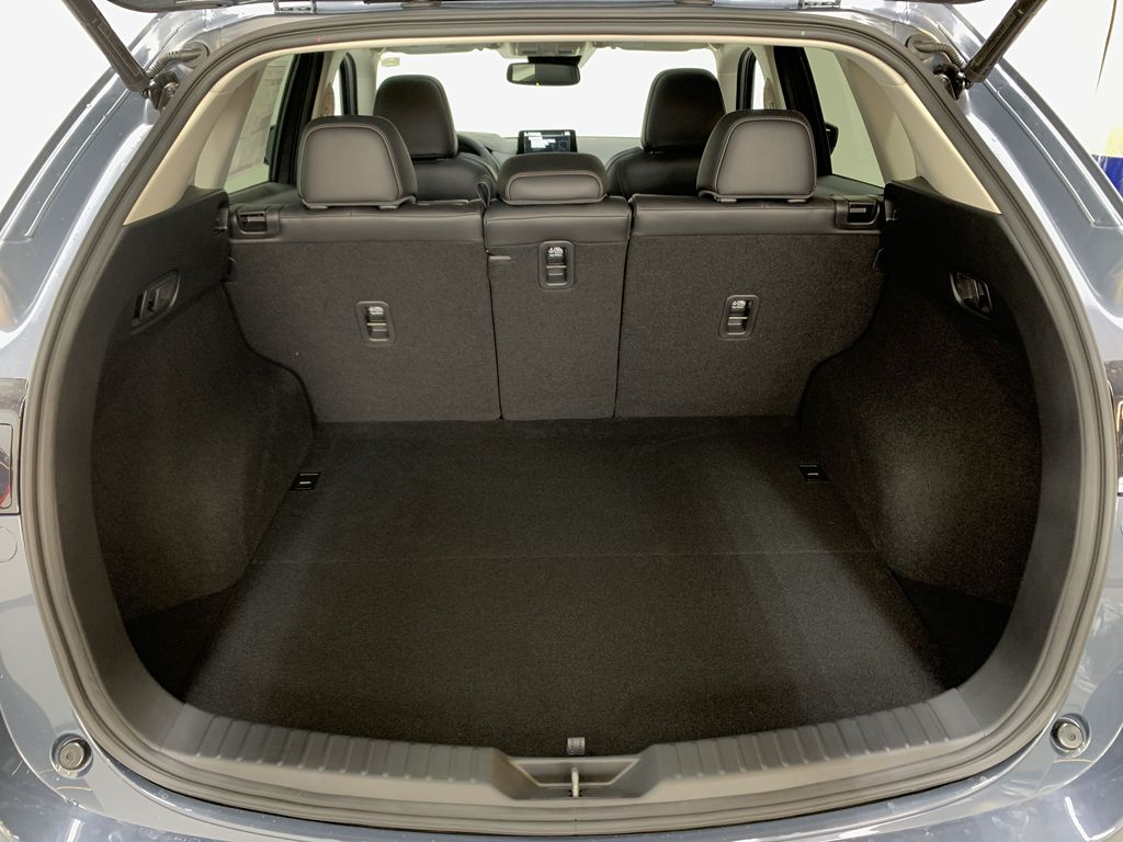 POLYMETAL GREY METALLIC(47C) 2021 Mazda CX-5 GT Turbo Trunk / Cargo Area Photo in Edmonton AB