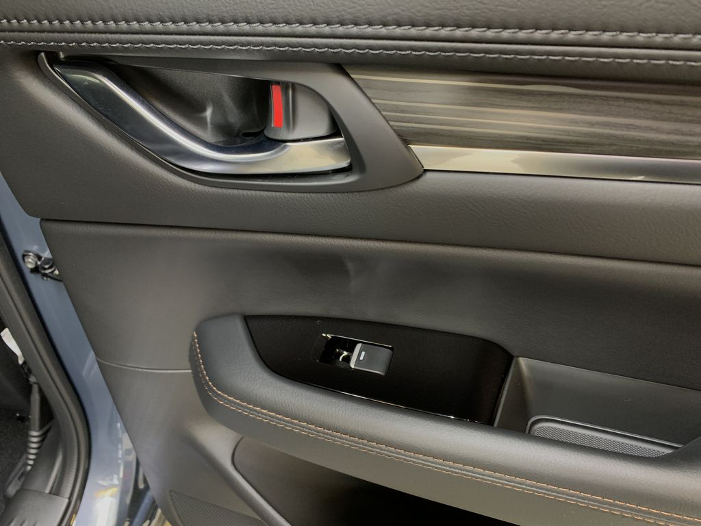 POLYMETAL GREY METALLIC(47C) 2021 Mazda CX-5 GT Turbo Passenger Rear Door Controls Photo in Edmonton AB