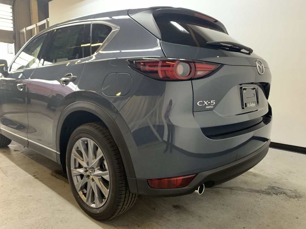 POLYMETAL GREY METALLIC(47C) 2021 Mazda CX-5 GT Turbo Left Rear Corner Photo in Edmonton AB