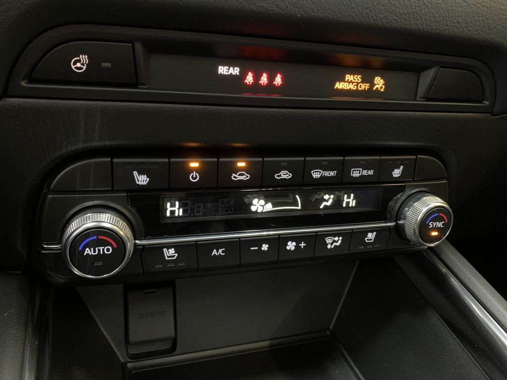 POLYMETAL GREY METALLIC(47C) 2021 Mazda CX-5 GT Turbo Central Dash Options Photo in Edmonton AB
