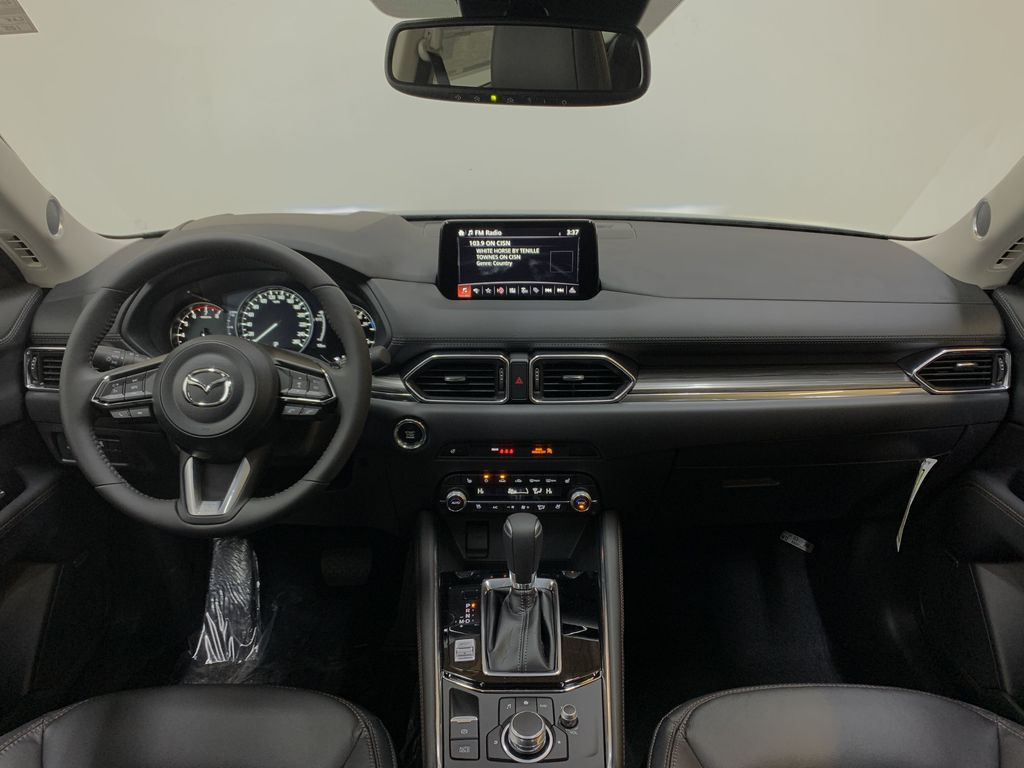 POLYMETAL GREY METALLIC(47C) 2021 Mazda CX-5 GT Turbo Strng Wheel/Dash Photo: Frm Rear in Edmonton AB