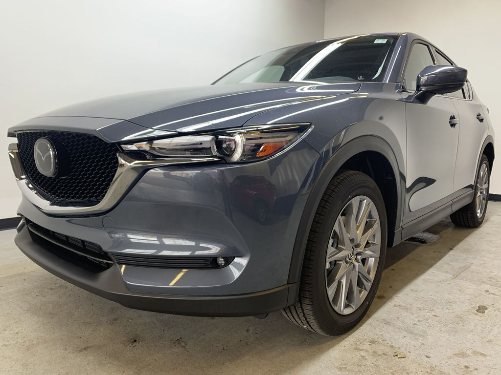 POLYMETAL GREY METALLIC(47C) 2021 Mazda CX-5 GT Turbo Left Front Corner Photo in Edmonton AB