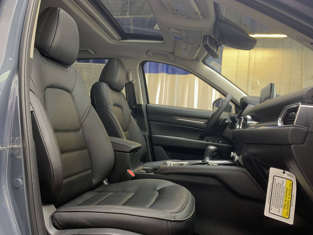 POLYMETAL GREY METALLIC(47C) 2021 Mazda CX-5 GT Turbo Right Side Front Seat  Photo in Edmonton AB