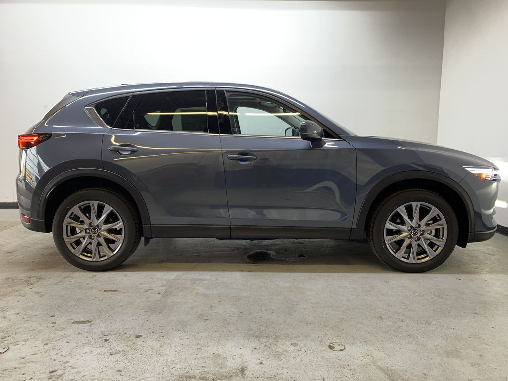 POLYMETAL GREY METALLIC(47C) 2021 Mazda CX-5 GT Turbo Right Side Photo in Edmonton AB