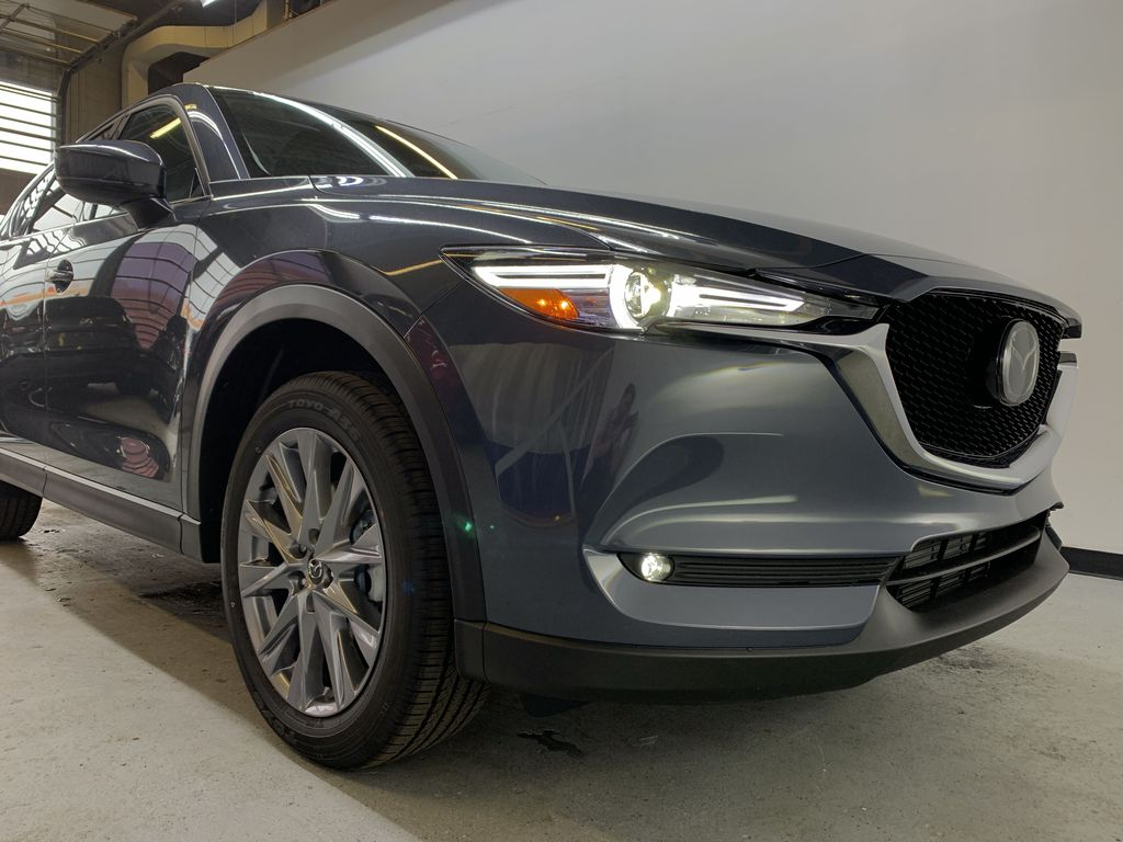 POLYMETAL GREY METALLIC(47C) 2021 Mazda CX-5 GT Turbo Right Front Corner Photo in Edmonton AB
